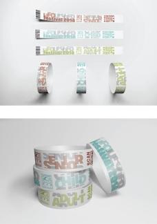 UFO Festival Wristbands